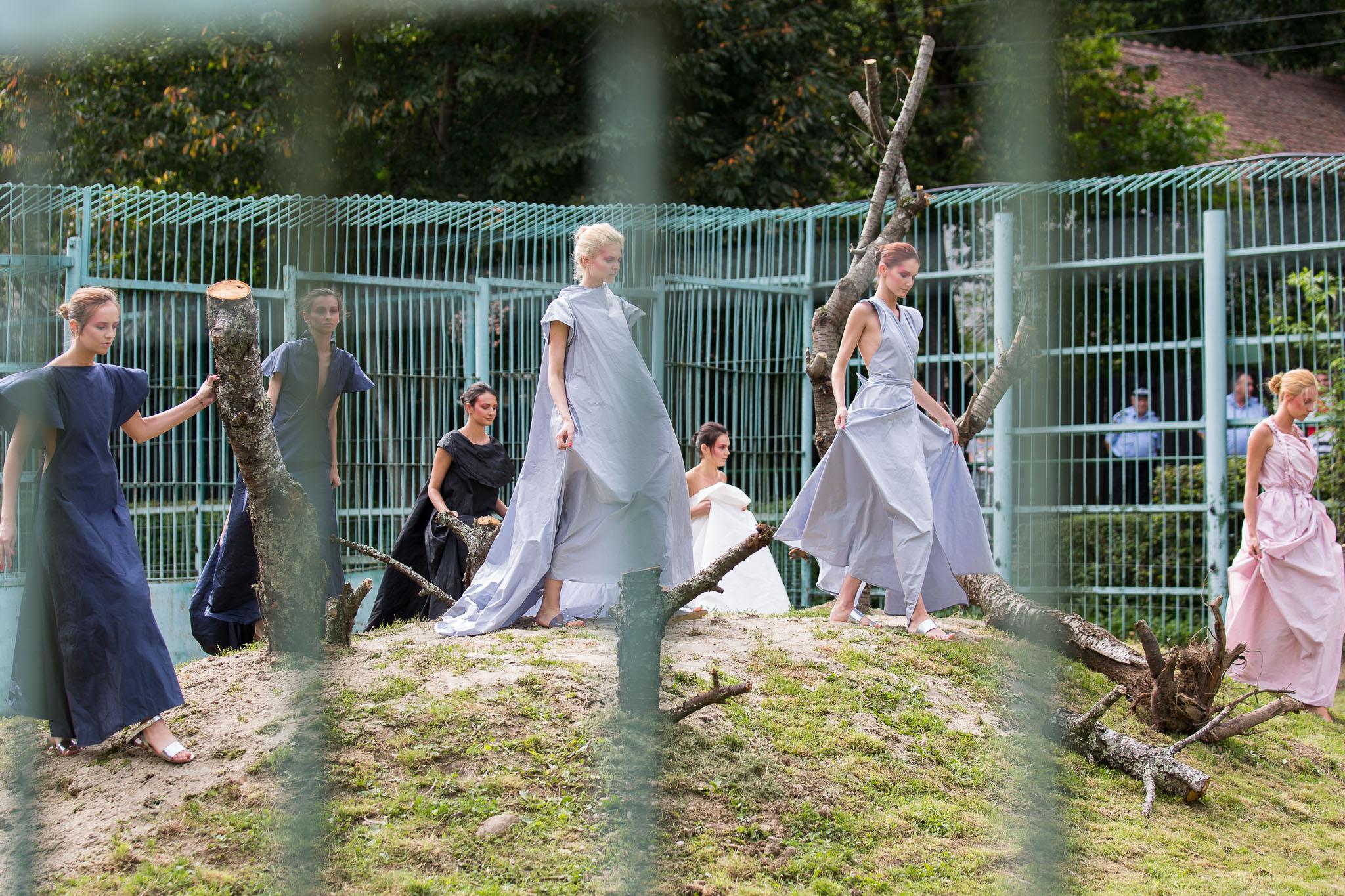 Start în cușca leilor la Feeric Fashion Week Sibiu