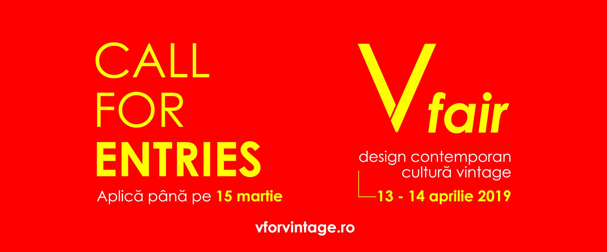 V fair deschide listele de înscriere pentru designeri